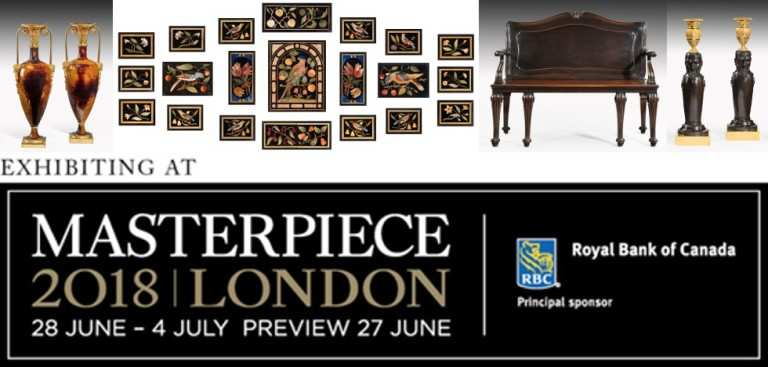 Masterpiece 2018 London Art Fair - Stevens Furniture Resoration