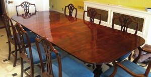 French Polishing section - Stevens Furniture Restoration