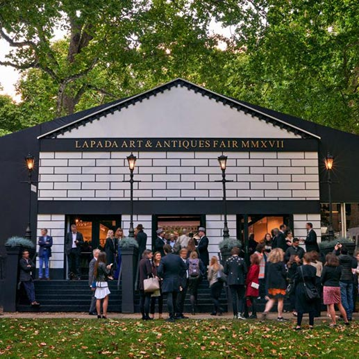 From 14 to19 September Lapada Art and Antiques Fair London returns