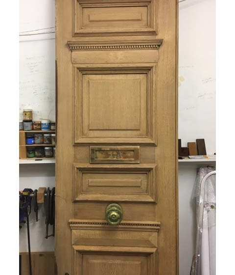 Doors refinishing in Chelsea - Stevens Furniture Restoration - London
